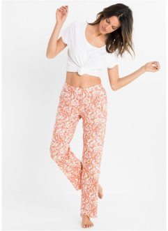 Lot de 2 pantalons de pyjama en coton bio, bpc bonprix collection