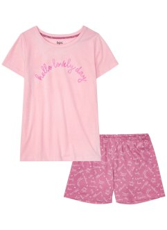 Pyjashort en coton bio, bpc bonprix collection