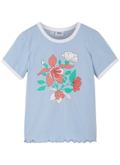 T-shirt fille en coton bio, bpc bonprix collection
