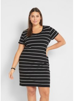 Robe en jersey extensible à manches courtes, bpc bonprix collection