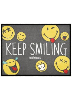Tapis de protection avec imprimé Smiley, bpc living bonprix collection