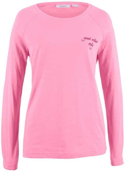 T-shirt manches longues 100% coton avec imprim eacute , bpc bonprix  collection ee2b221ff8a