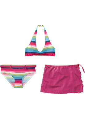 Bikini + jupe fille (Ens. 3 pces.), bpc bonprix collection