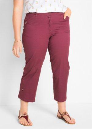 BODYFLIRT Bonprix - Pantalon à broderie ajourée : MUST-HAVE blanc pour femme