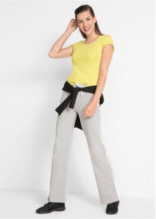 BONPRIX Gris Pantalon De Survêtement Pantalon raccourci Taille 6//8 Casual entièrement neuf sans étiquette G012