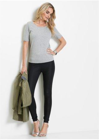Legging brillant noir métallisé - bpc selection acheter online ... 2071acf02e7
