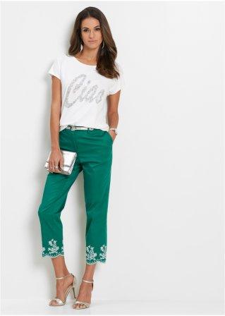 bf29c7259d95 T-shirt à paillettes blanc argenté - Femme - bpc selection - bonprix.fr