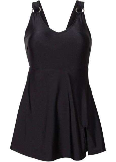 Robe de bain avec coques souples et maillot de bain intégrés - noir de03e1a8704e