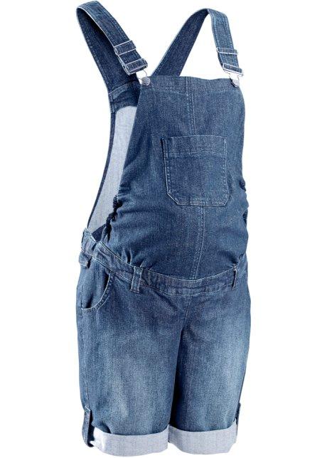 pas cher à vendre magasiner pour le luxe recherche d'officiel Salopette-short en jean de grossesse