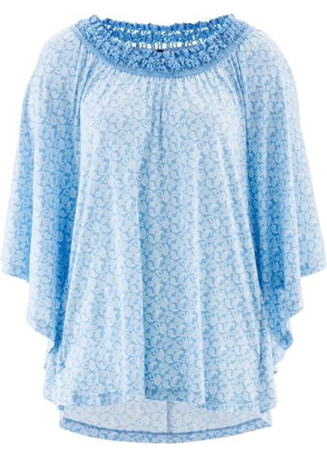 89377a84d197 Tunique T-shirt mi-manches - designed by Maite Kelly bleu clair ...