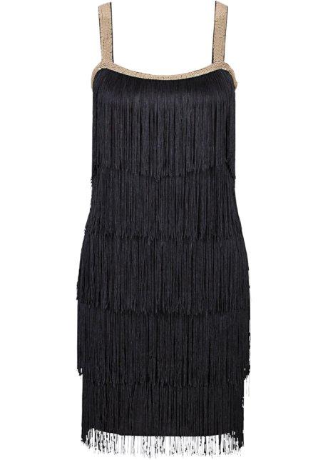 21051ff421c Robe à franges noir - BODYFLIRT boutique - bonprix.fr