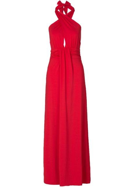 c6ea18e64a0 Robe drapée rouge - BODYFLIRT boutique commande online - bonprix.fr