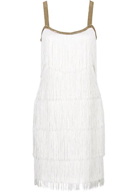 7b6e016b028 Robe à franges blanc cassé - Femme - BODYFLIRT boutique - bonprix.fr