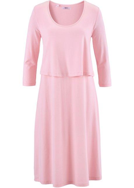 c7177f133909a Robe style double épaisseur rose poudré - bpc bonprix collection ...