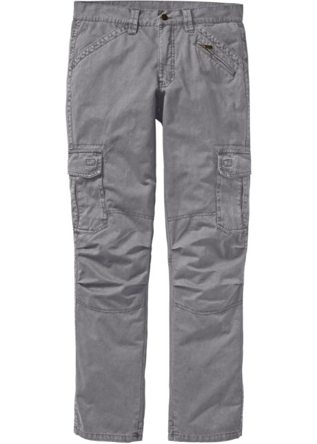 Cargo Fit Straight Loose Homme Anthracite Pantalon wfEzdqw