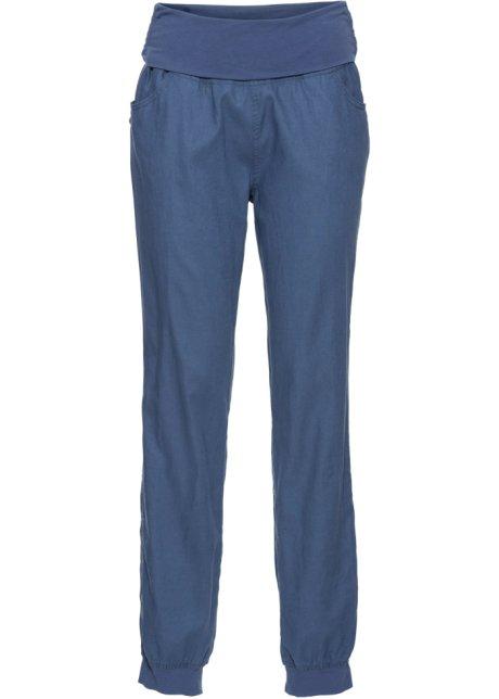 Pantalon avec revers à la taille indigo - RAINBOW acheter online ... f801863e4d8e