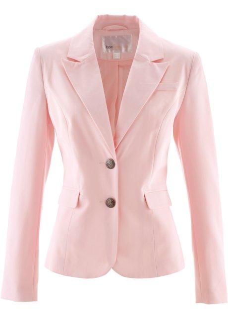 blazer femme rose pale