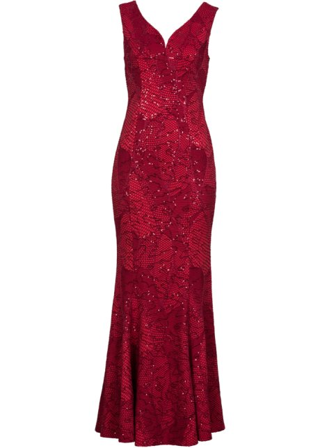 940263b1a72c Robe de soirée rouge - BODYFLIRT boutique - bonprix.fr