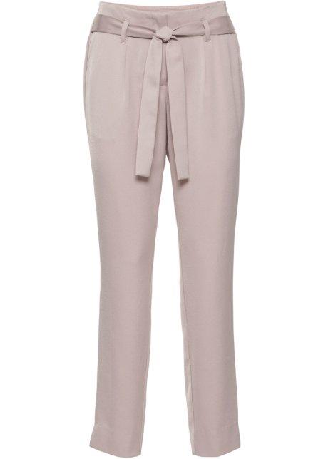 Pantalon en satin rose mat - BODYFLIRT - bonprix.fr 3e9beb085a48