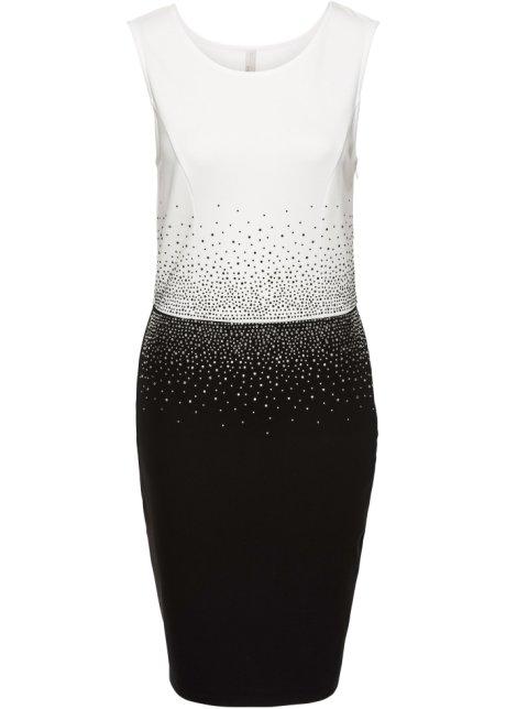Robe noir blanc - Femme - BODYFLIRT boutique - bonprix.fr 5c63279f52c8