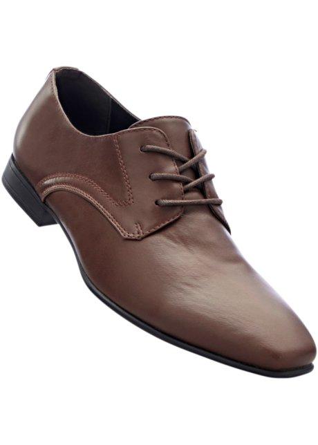 bpc selection Bonprix - Chaussures à lacets marron pour homme