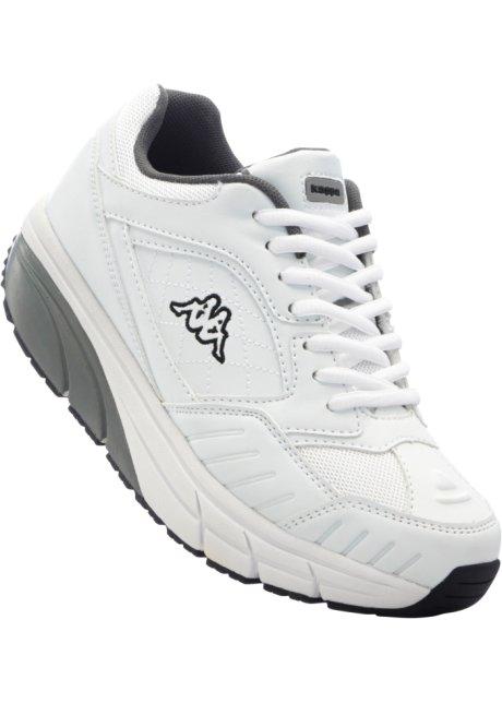 sport de Chaussures blancgris Femme Kappa kiuZXOP
