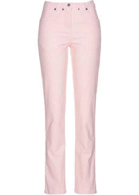 a3990f4abb468 Pantalon velours côtelé extensible rose dragée - Femme - bpc ...