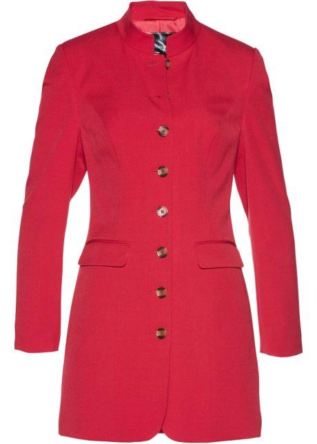 blazer long rouge - femme - bonprix.fr