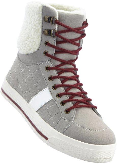 bpc bonprix collection Bonprix - Sneakers high gris pour femme