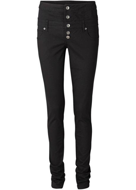 Pantalon taille haute noir - RAINBOW - bonprix.fr 95b04d8daadc