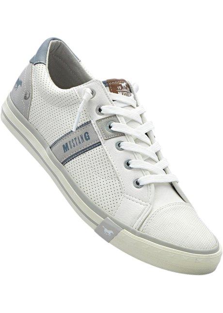 Bonprix - Sneakers de Mustang blanc pour homme Acheter Pas Cher Offre ZT3y33
