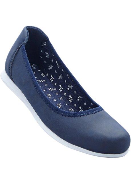 buy online 6a230 68b7b Bonprix - Ballerines bleu pour femme