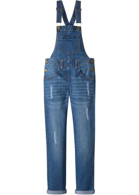 en gros photos officielles bas prix Salopette en jean