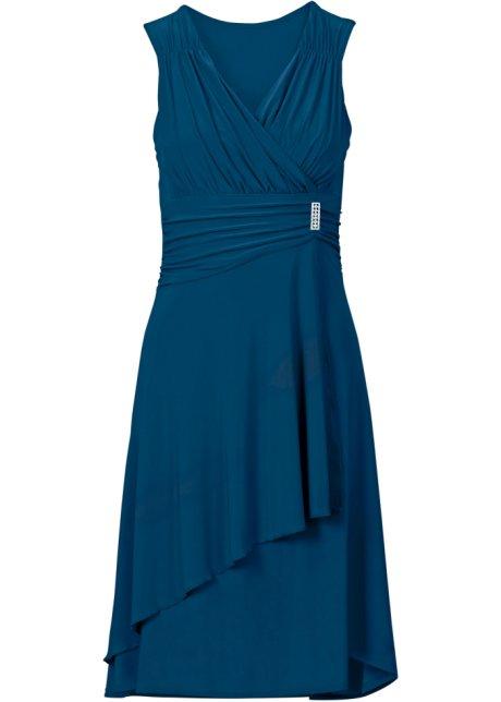 Femme Robe Avec Pétrole Bleu Application wwIqUaW0