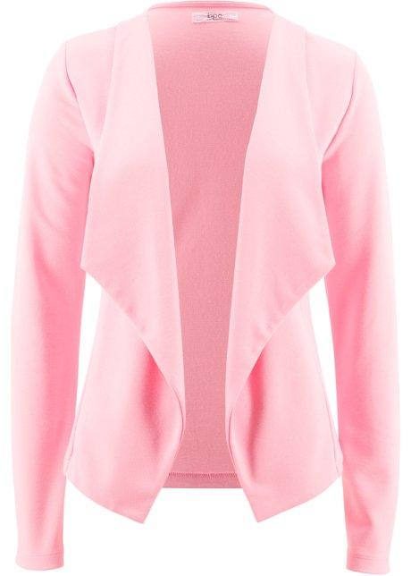 104a9fdb41 Blazer matière sweat rose poudré - bpc bonprix collection acheter ...