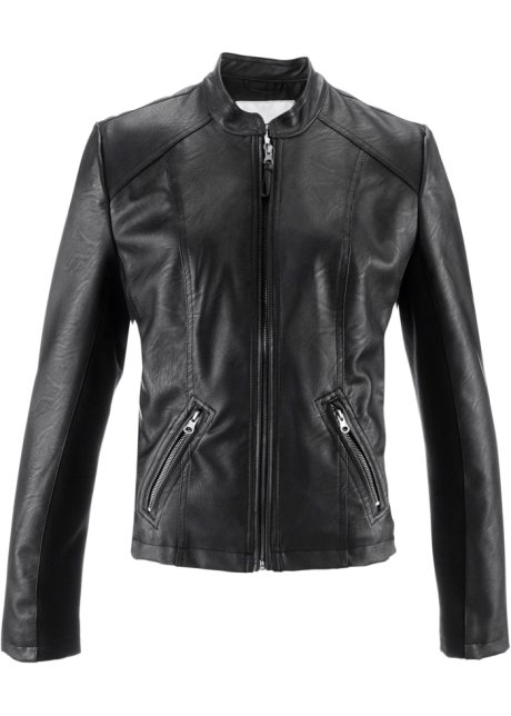 Cuir Synthétique Collection Bonprix Veste Bpc Imitation qEXPqdw