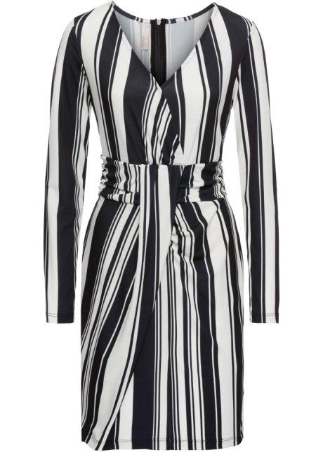 f0382c04d5b Robe à rayures noir blanc rayé - Femme - bonprix.fr