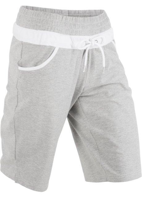 Short matière sweat gris clair chiné - Femme - bonprix.fr 192799e3b0d7