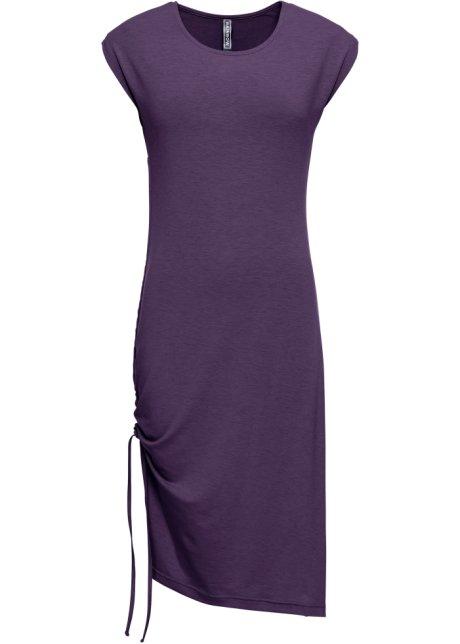 754db57b314 Robe avec laçage violet foncé chiné - RAINBOW acheter online ...