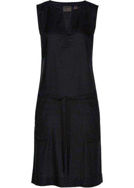 f9440d1eb142 Robe avec ceinture à nouer noir - bpc selection acheter online ...