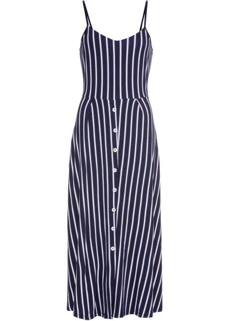 0527638d77 Robe à rayures bleu foncé/blanc rayé - Femme - RAINBOW - bonprix.fr