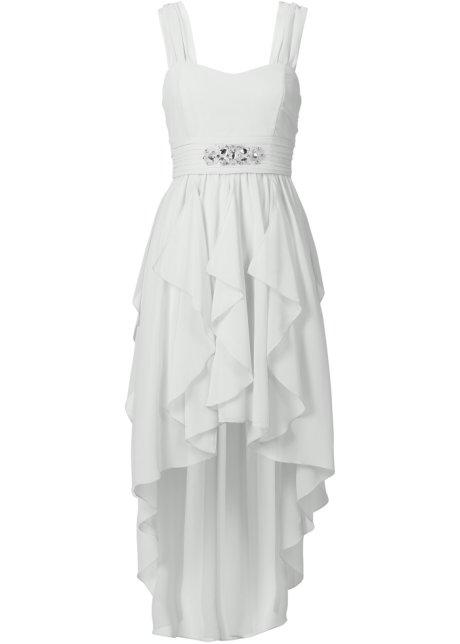 8b5abe98dede Robe asymétrique blanc cassé - Femme - - bonprix.fr