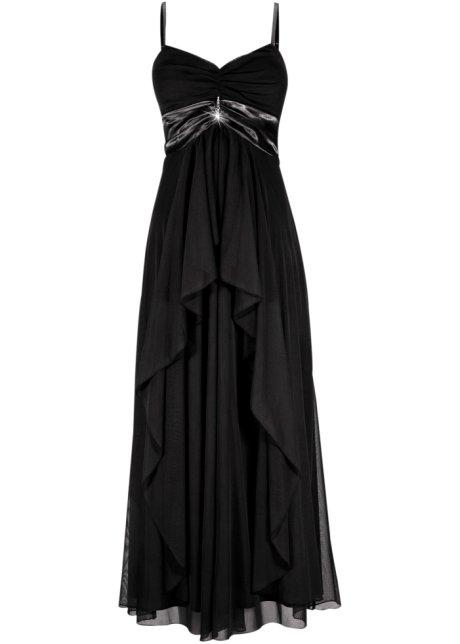 robe noire femme longue