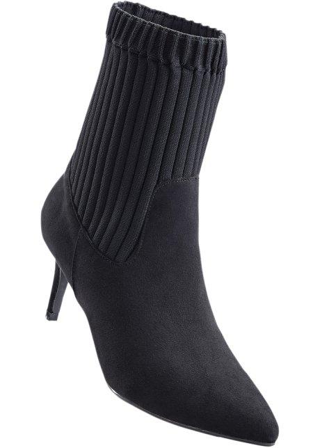 Bottines noir - Femme - bonprix.fr 7b786117334d