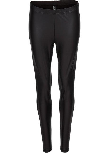 Legging en synthétique imitation cuir noir - Femme - RAINBOW ... cc6f17f3283