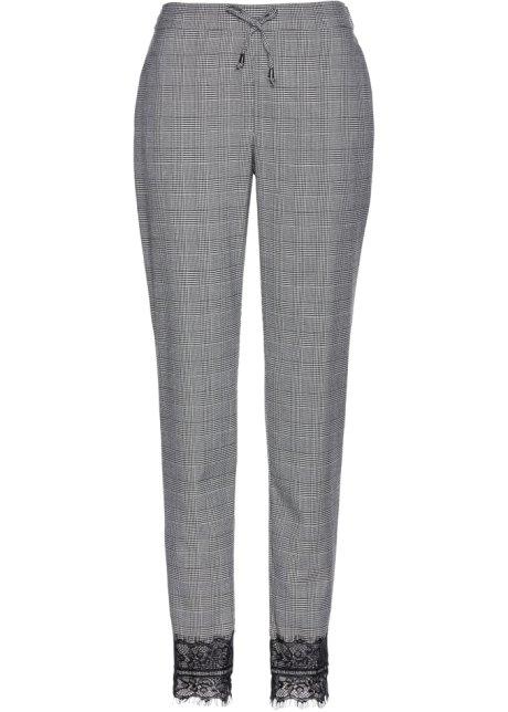 88508adfe559b Pantalon Premium style Prince de galles avec dentelle, bpc selection premium