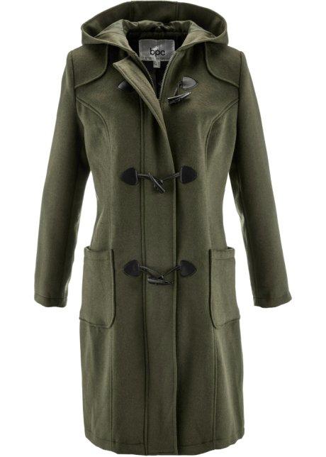 e803e0ef29ed6 Manteau duffle-coat en laine olive foncé - bpc bonprix collection ...