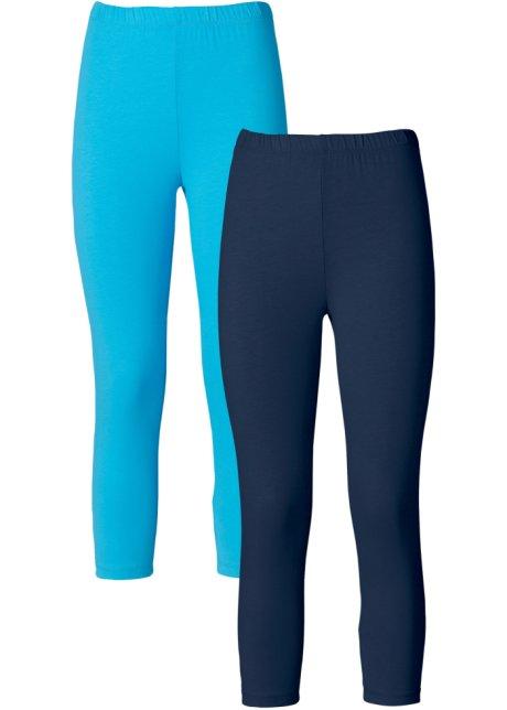 Deux leggings corsaires avec taille haute extensible confortable ... 50176525cc1