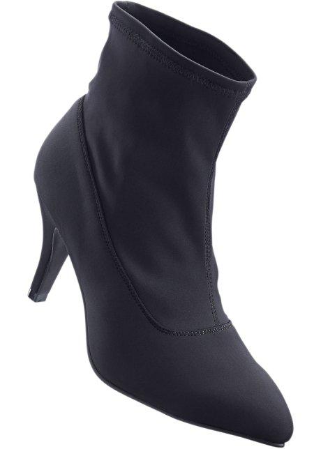 Bottines noir - Femme - BODYFLIRT - bonprix.fr 850feb79772f