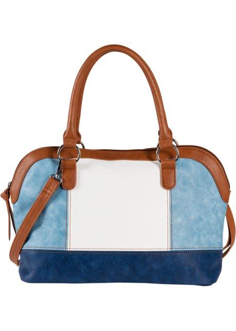 ce96e8e0cb Sac à main bleu clair/marron/blanc - Femme - bpc bonprix collection ...